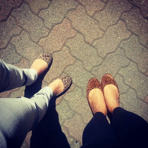 Matching leopard shoes ♥